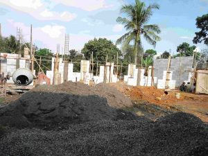 Tahap Pembangunan Asrama Putra